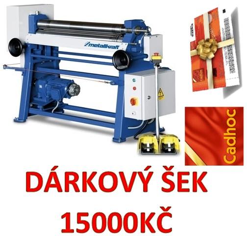 ELEKTRICKÁ ZAKRUŽOVAČKA PLECHU METALLKRAFT RBM 1550-20 E