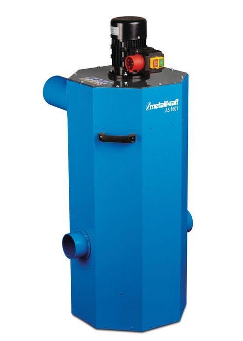 Odsávání pro pásové brusky na kov Mettalkraft AS1601