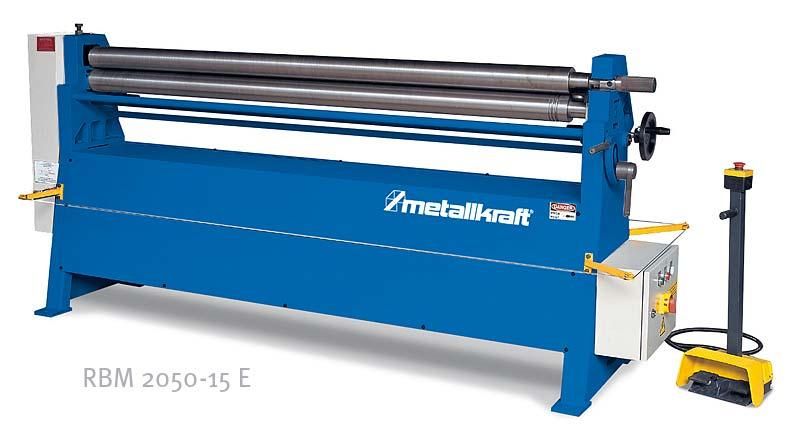 Elektrická zakružovačka plechu Metallkraft RBM2050-15 E