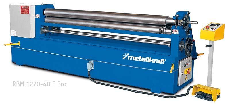 Elektrická zakružovačka plechu Metallkraft RBM1270-40E PRO