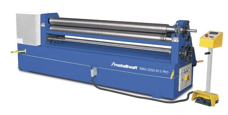 Elektrická zakružovačka plechu Metallkraft RBM2050-30E PRO