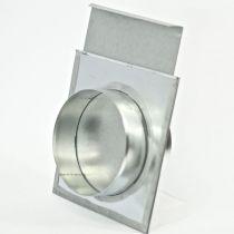 Šoupátko, uzávěr kruhový plochý, průměr 125mm